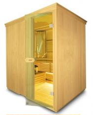 Venkovní finská sauna
